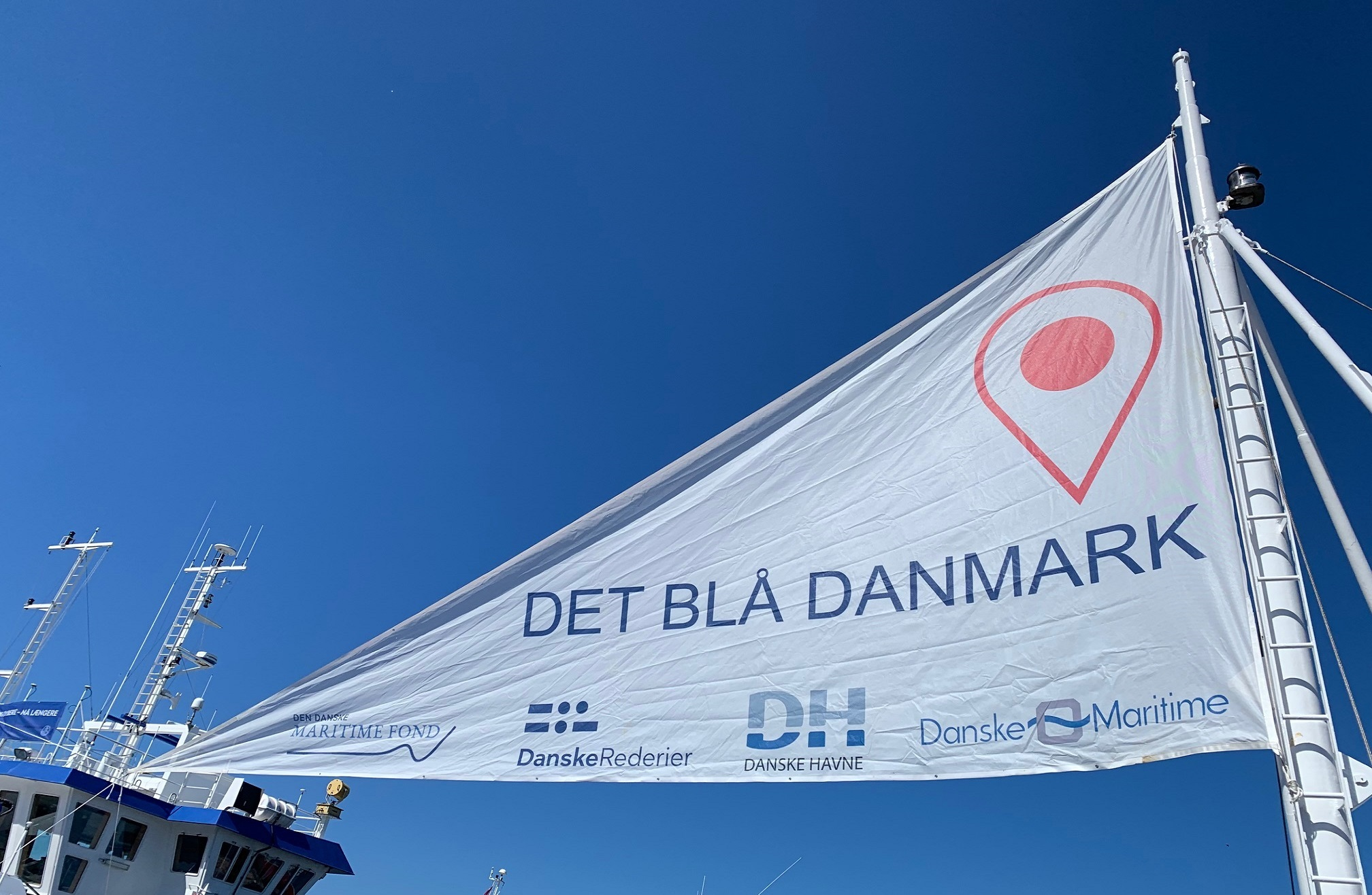 Det Blå Danmark - flag 2
